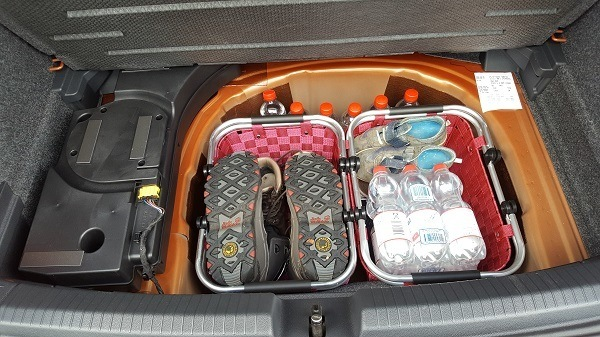 Polo 2018 Schuhe im Körbchen